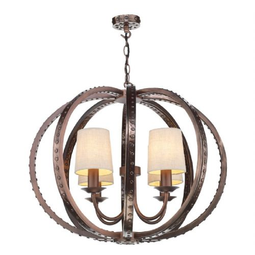 Twain 4 Light Pendant Copper TWA0464 Fitting Only (7-10 day Delivery)